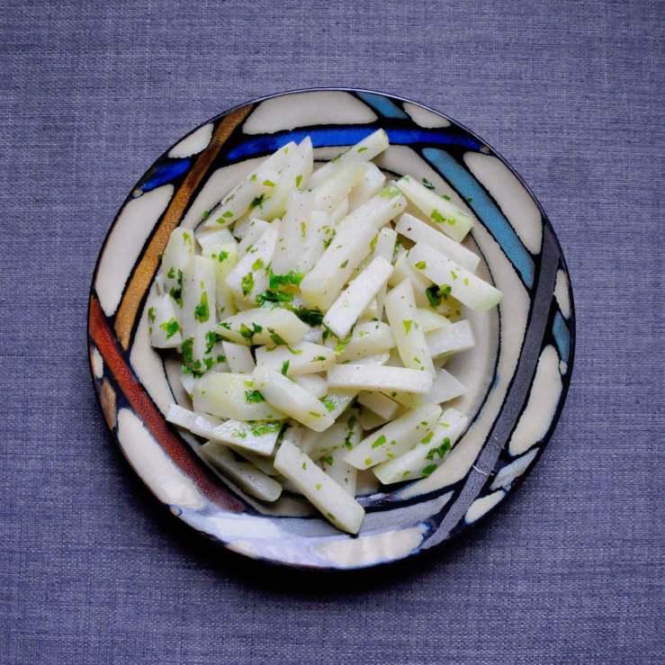 Kohlrabi veggies