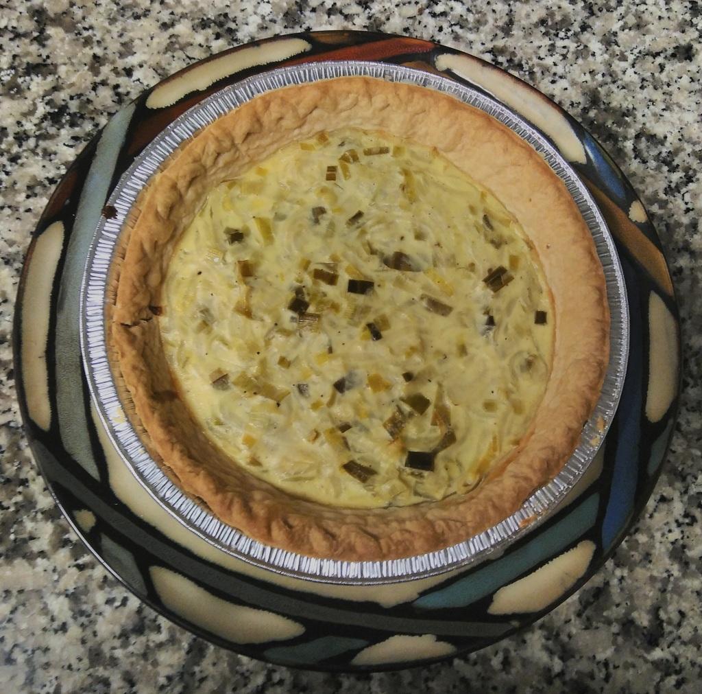 Zwiebelkuchen - Onion tart