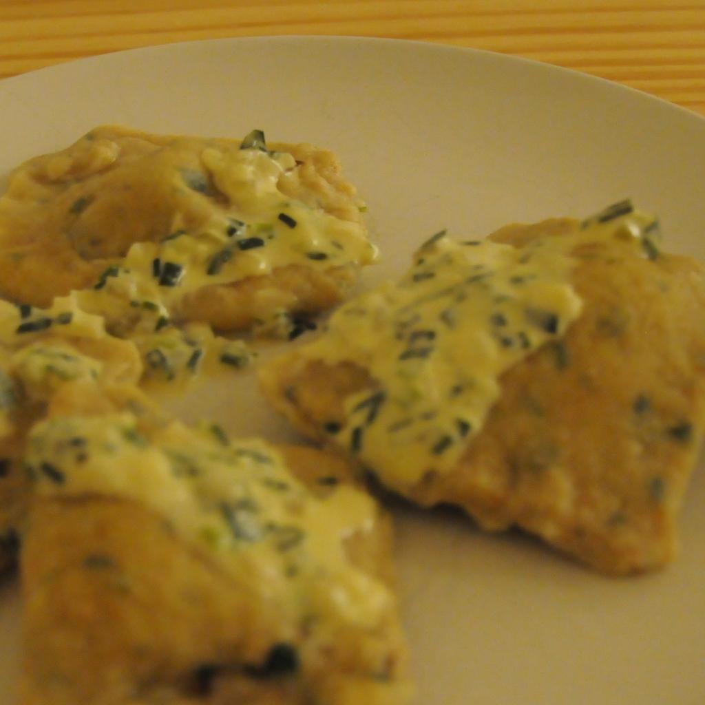 3 Maultaschen (dumplings)