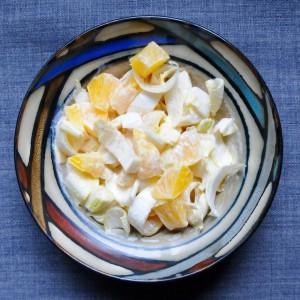 Belgian endive and orange salad (Chicory-Orangen-Salat)