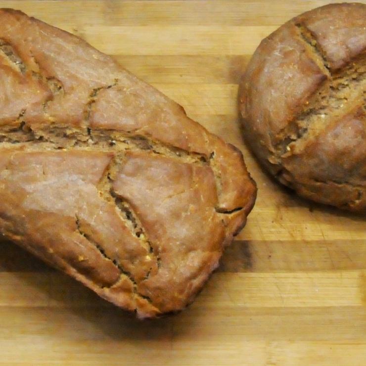 2 loafs of Holstein fine rye bread (Holsteinisches Feinbrot)